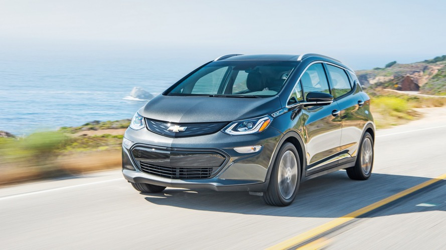 Chevy Bolt EV rated by EPA at 238 miles of range