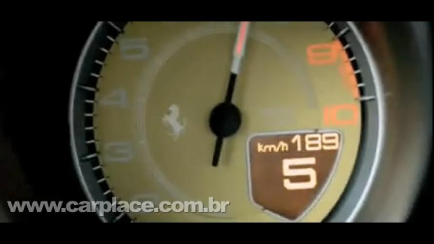 VÍDEO: Veja a Nova Ferrari 458 Italia em movimento e ouça o ronco do motor