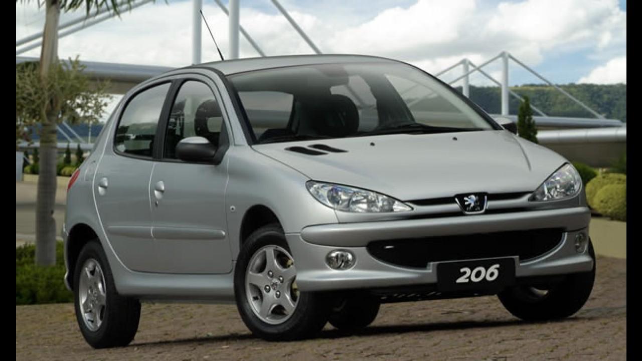 Peugeot encerra produção do 206 no Brasil
