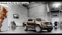 Volkswagen lançará a nova Amarok no dia 15 de dezembro - Vídeo mostra o visual completo