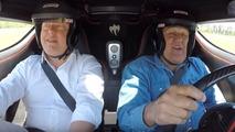 Jay Leno drives Koenigsegg One:1