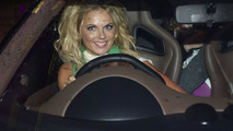 Geri Halliwell arriving at the Fashion for Relief charity fashion show - 10.03.2010