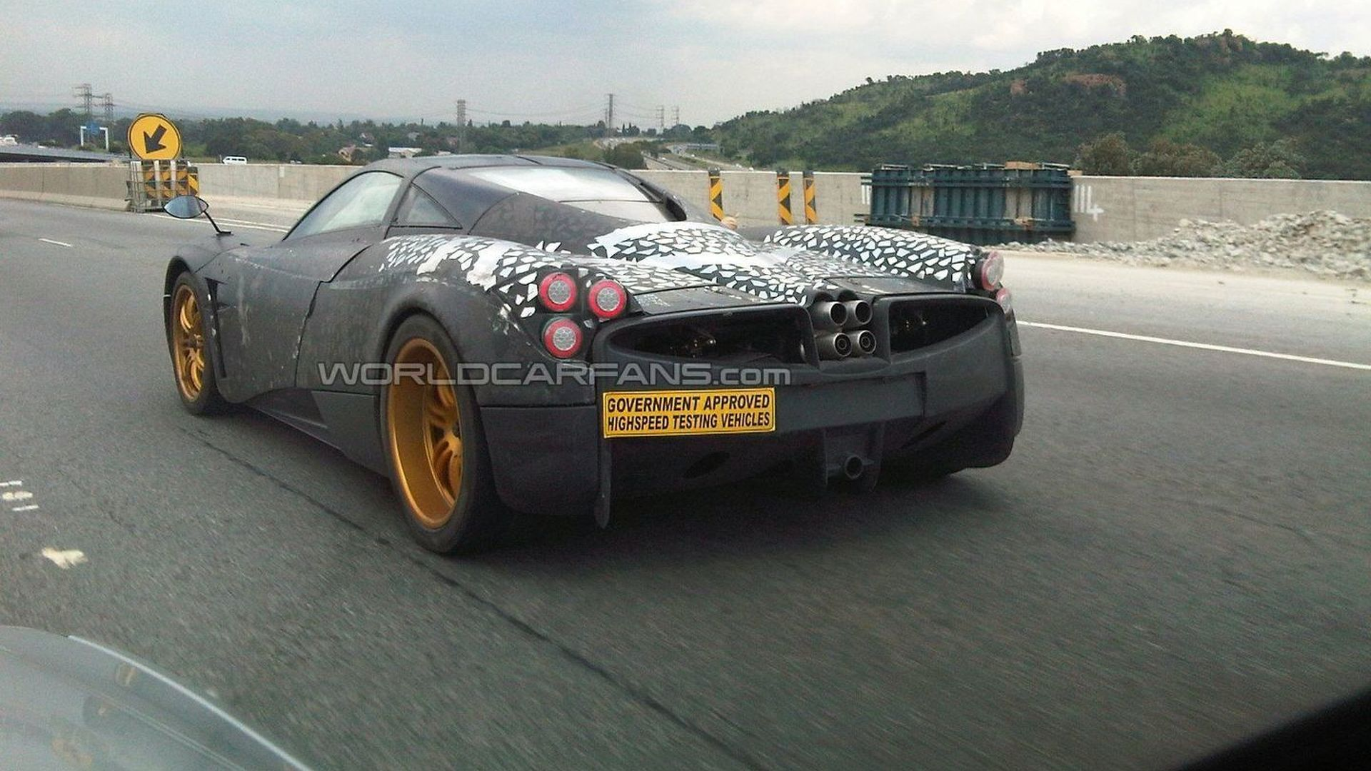 Two Pagani C9 Prototypes Spied In South Africa Wcf Exclusive Photos