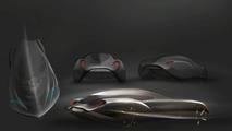 Bora Kim, early Bentley design rendering