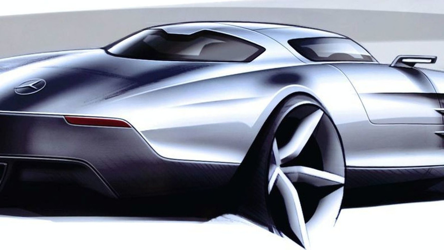 Mercedes-Benz SLS AMG Gullwing Official Interior Photos and Sketches Released