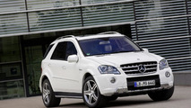 2011 Mercedes ML 63 AMG facelift