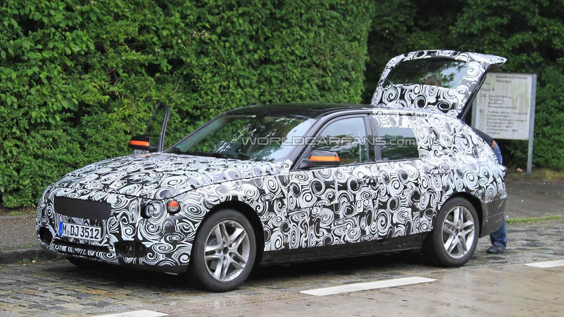 2012 BMW 3 Series Touring Spied With Open Boot Plus Interior Shot