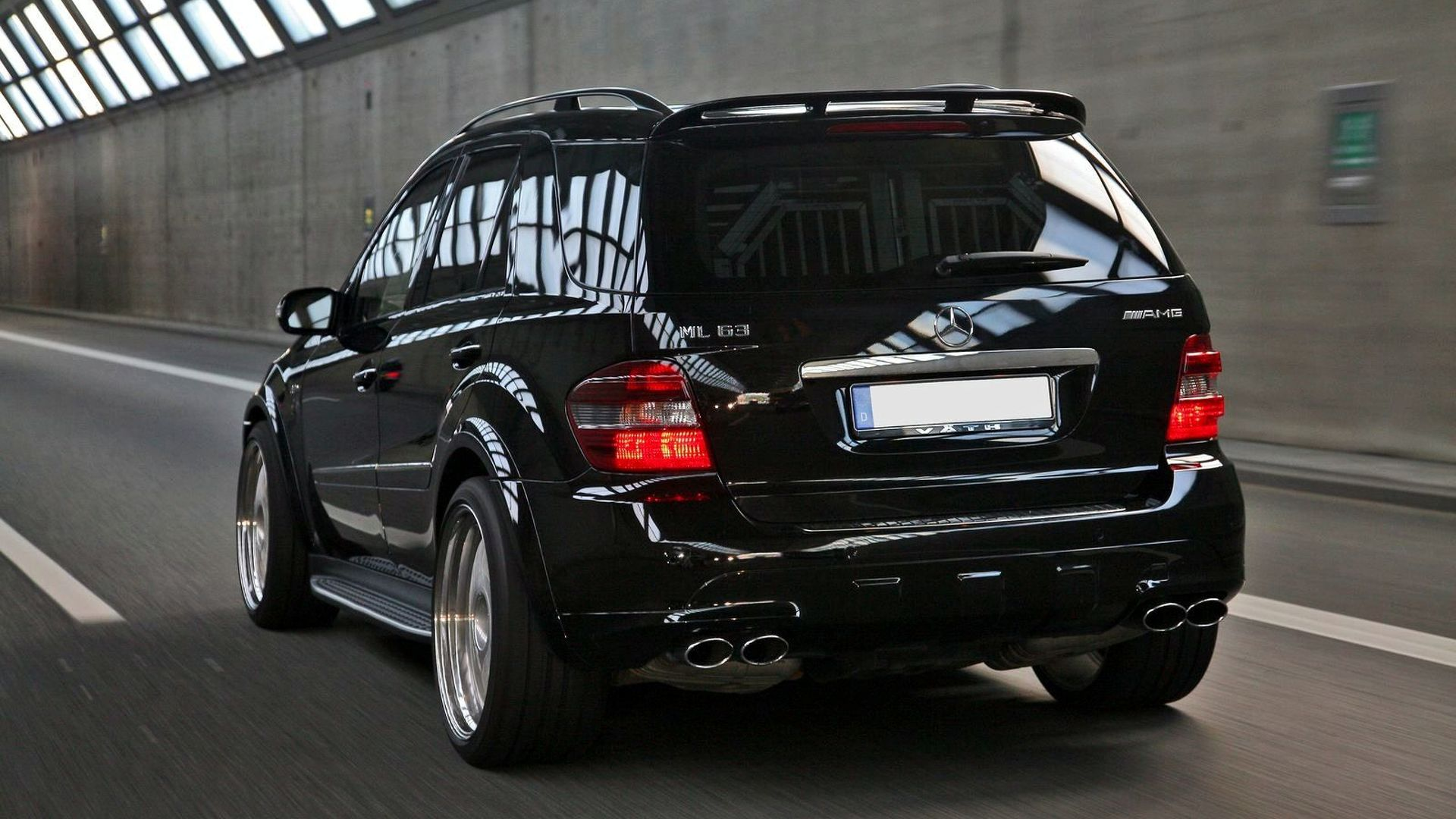 Vath Giant With 585hp Based On Mercedes Ml 63 Amg