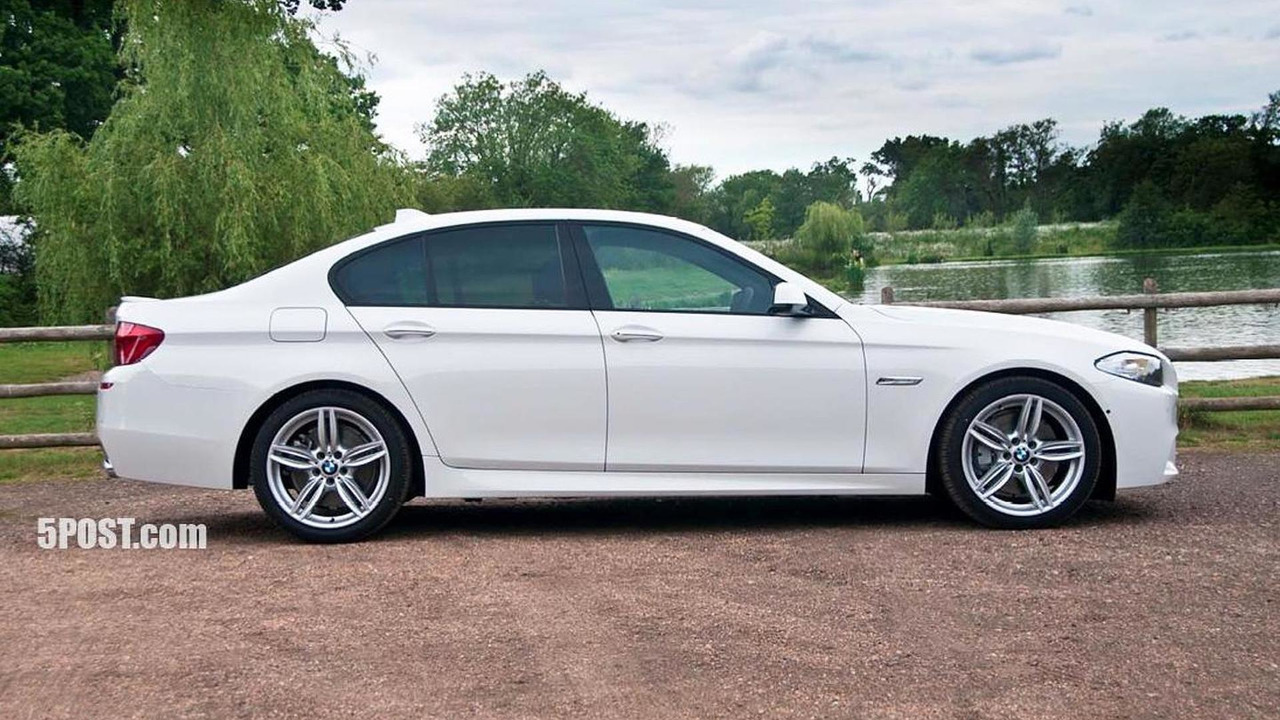 2011 Bmw 5 Series With M Sport Package First Photos Surface