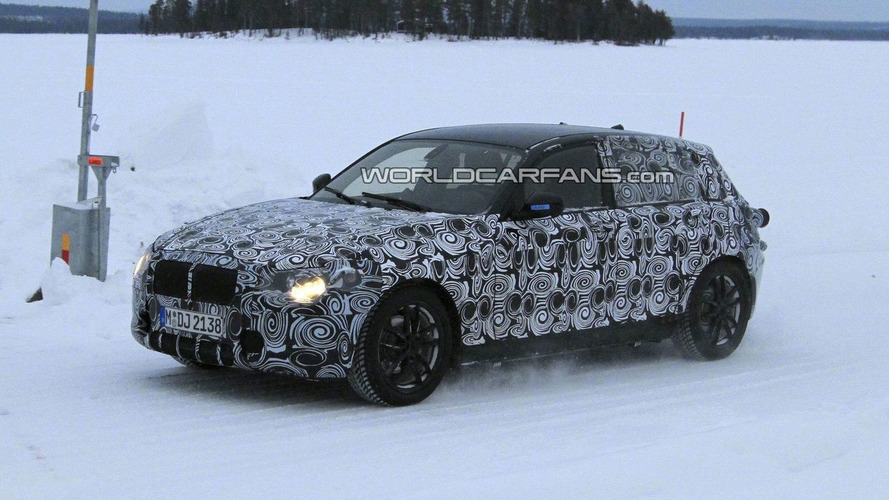 2012 BMW 1 Series 5-Door Latest Winter Testing Spy Photos