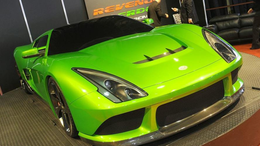 Revenge Verde Supercar Concept Hits the Detroit Show Floor