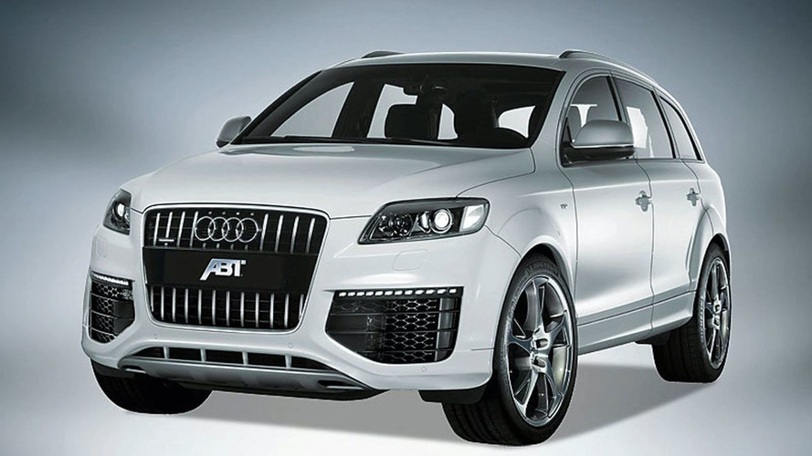 Abt Pump 560 Ponies from Audi Q7 V12 TDI