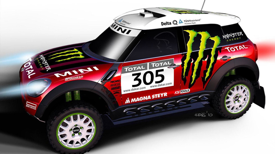 MINI ALL4 Countryman previewed for Dakar Challenge in 2011