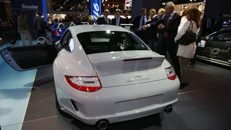 Porsche 911 Sport Classic Dazzles in Frankfurt