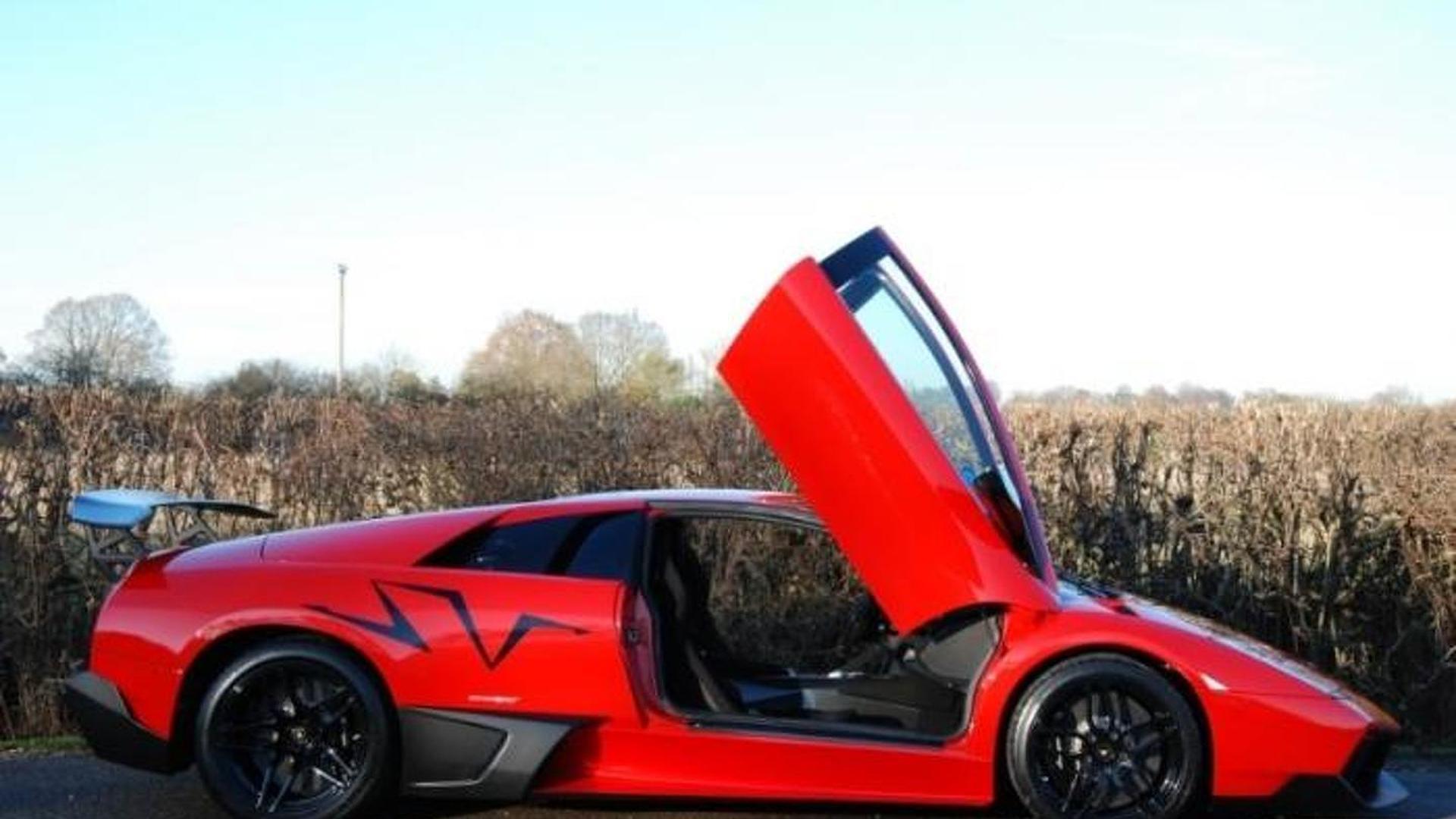 Low Mileage Lamborghini Murcielago Sv Rosso Mars Up For Grabs In Uk