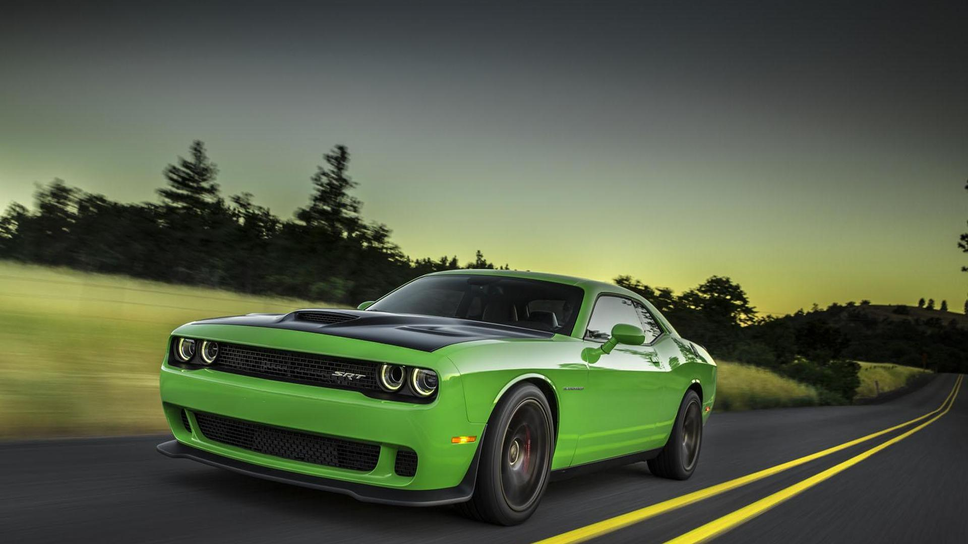 2016 Dodge Charger Challenger Srt Hellcat Announced