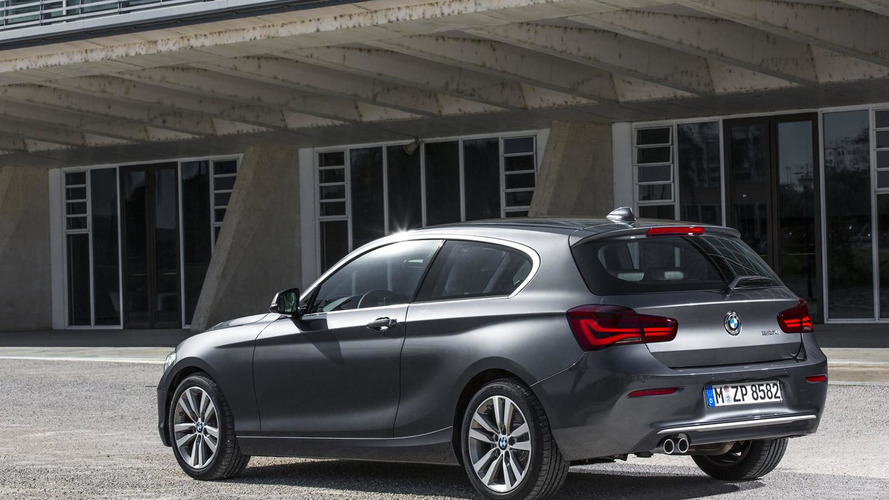 2015 BMW 1 Serisi makyaj