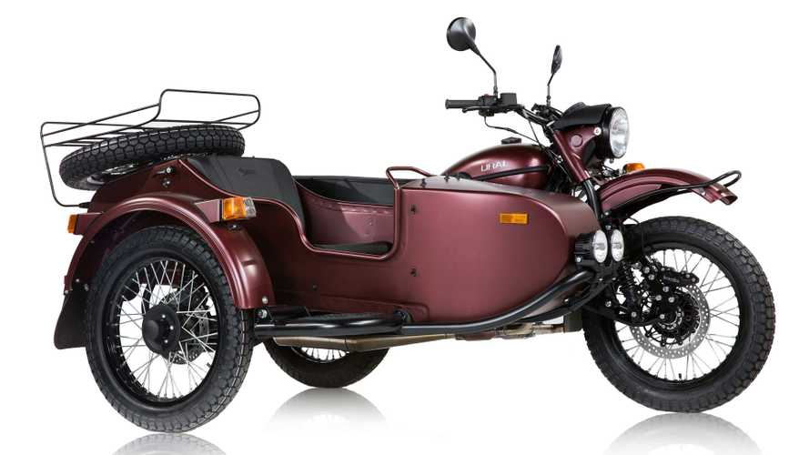 Meet Ural's New Top-End, Two-Wheel-Drive Sidecar Motorcycle
