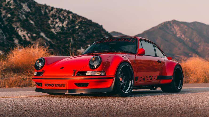 RWB-modified Porsche 911 former SEMA star now up for sale
