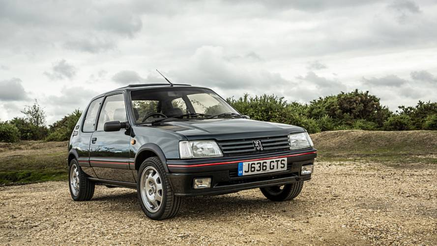 Peugeot 205 GTI restored with iconic rally-winning engine