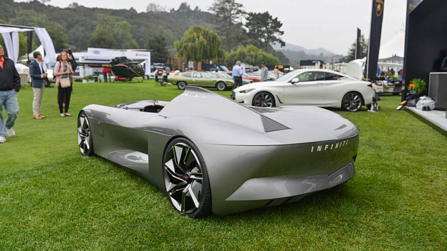 Infiniti Prototype 10 Concept At Pebble Beach