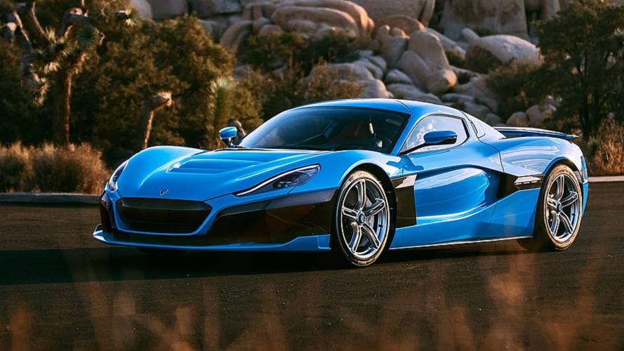 California Edition Rimac C_Two Debuts In Los Angeles