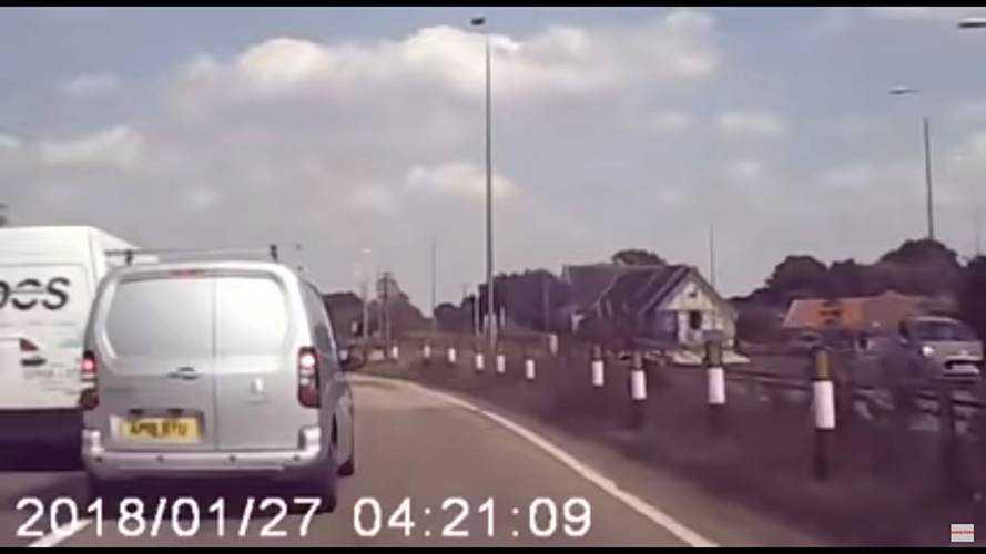 Van Hits Roundabout