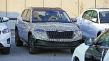 Skoda Kodiaq Coupe spy photo