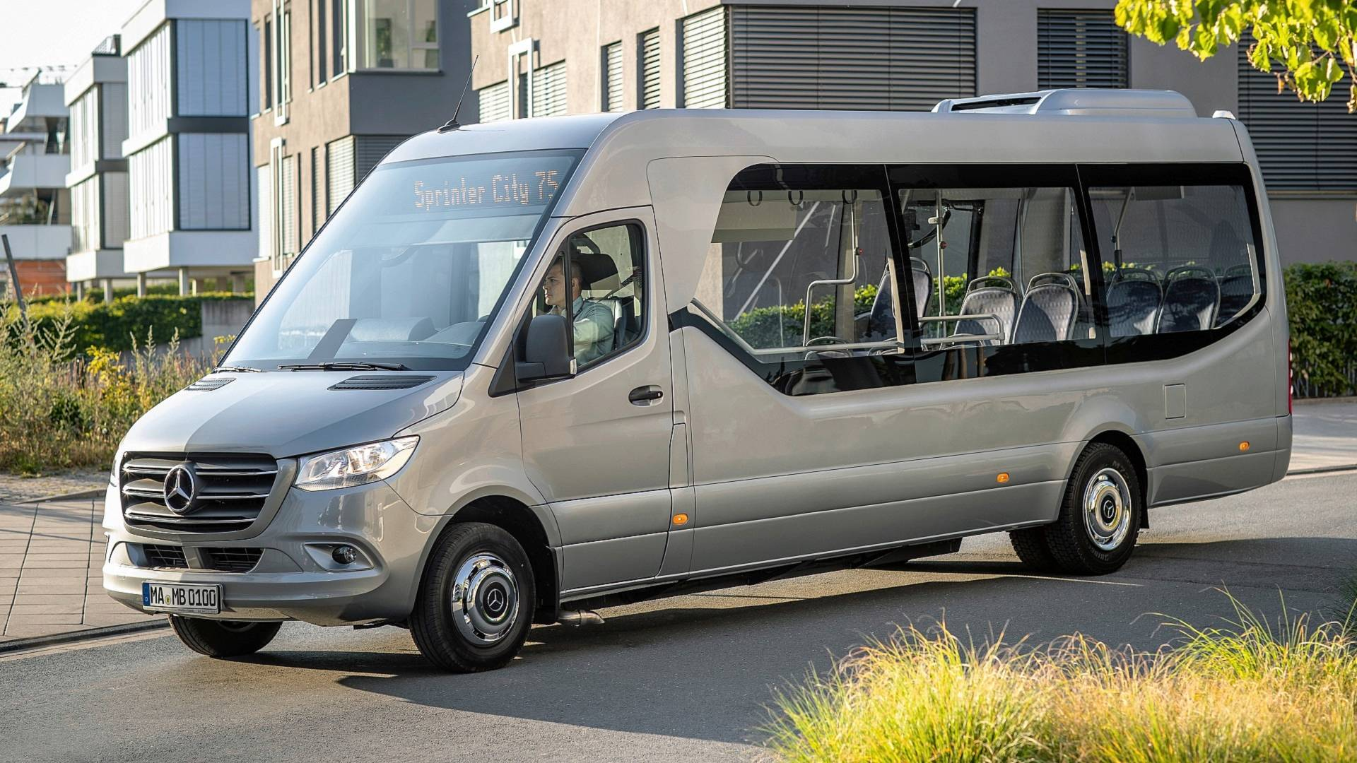 652c3696b7f9 Mercedes  new Sprinter-based minibuses revealed