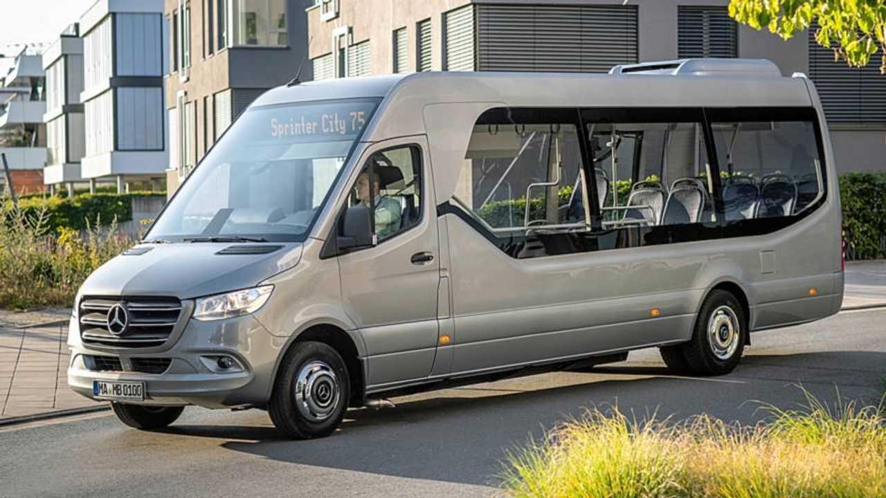 New Mercedes-Benz minibuses
