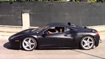 Ferrari 488 ibrida spy photo