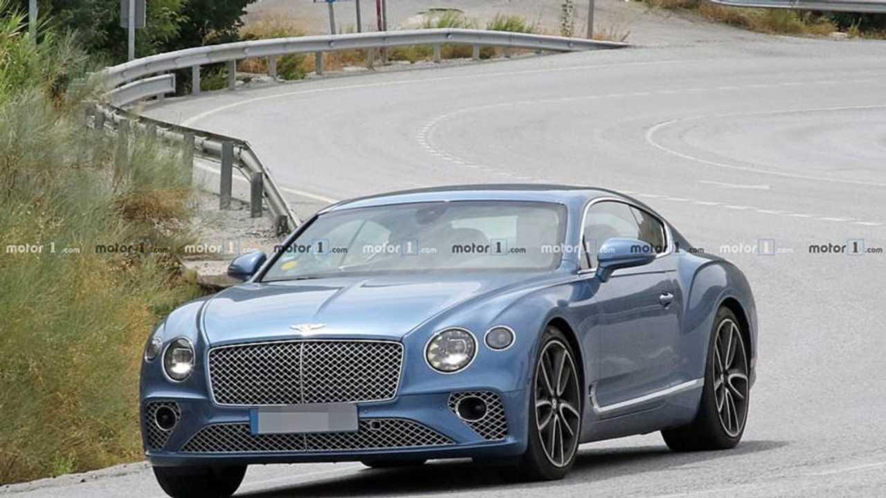 Bentley Continental GT Hybrid İlk Casus Fotoğrafları