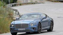Bentley Continental GT hybrid spy photo