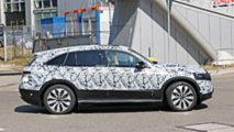 Mercedes EQ C Spy Photos