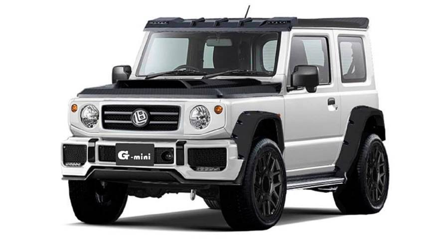 Liberty Walk gives Suzuki Jimny a G-Class makeover