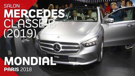 VIDÉO - La Mercedes-Benz Classe B en live au Mondial 2018