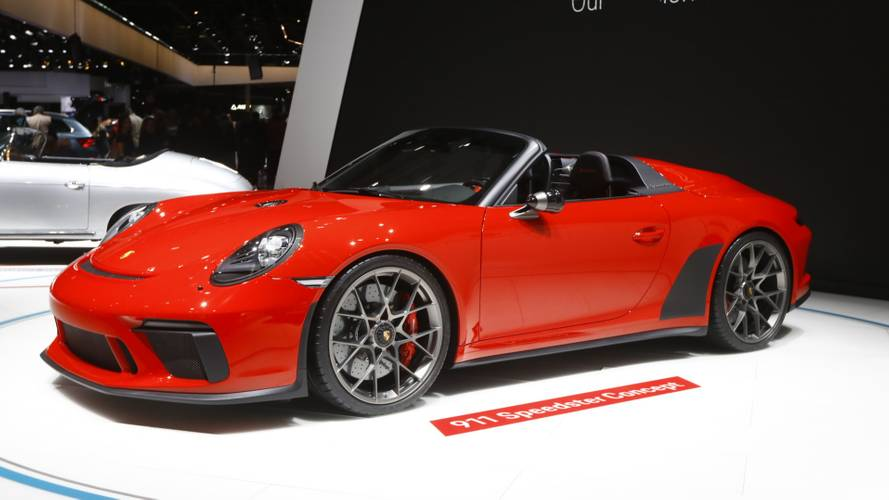 Retro Porsche 911 Speedster confirmed for production