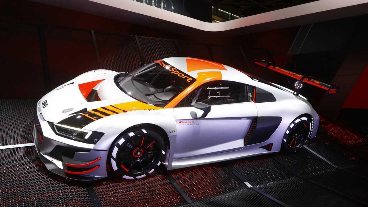 Audi R8 LMS GT3 2019, en París