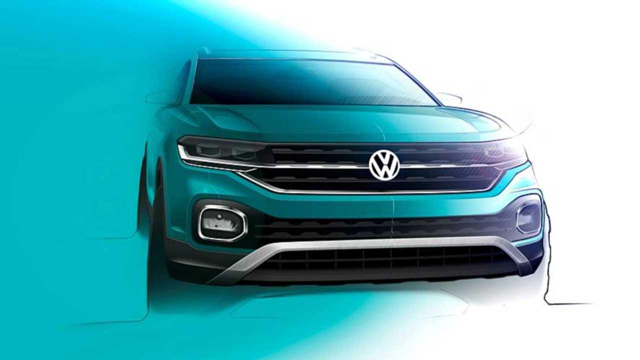 VW T-Cross teasers