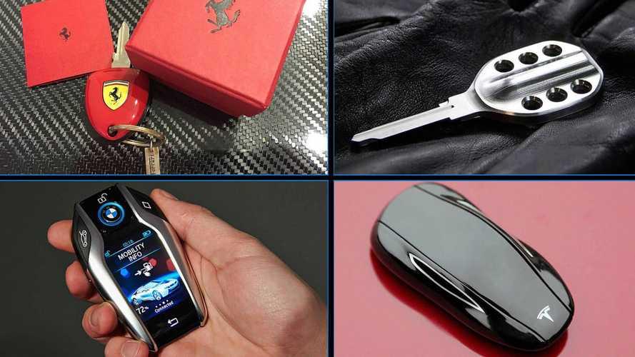9 llaves 'molonas' de coches dignas de colección