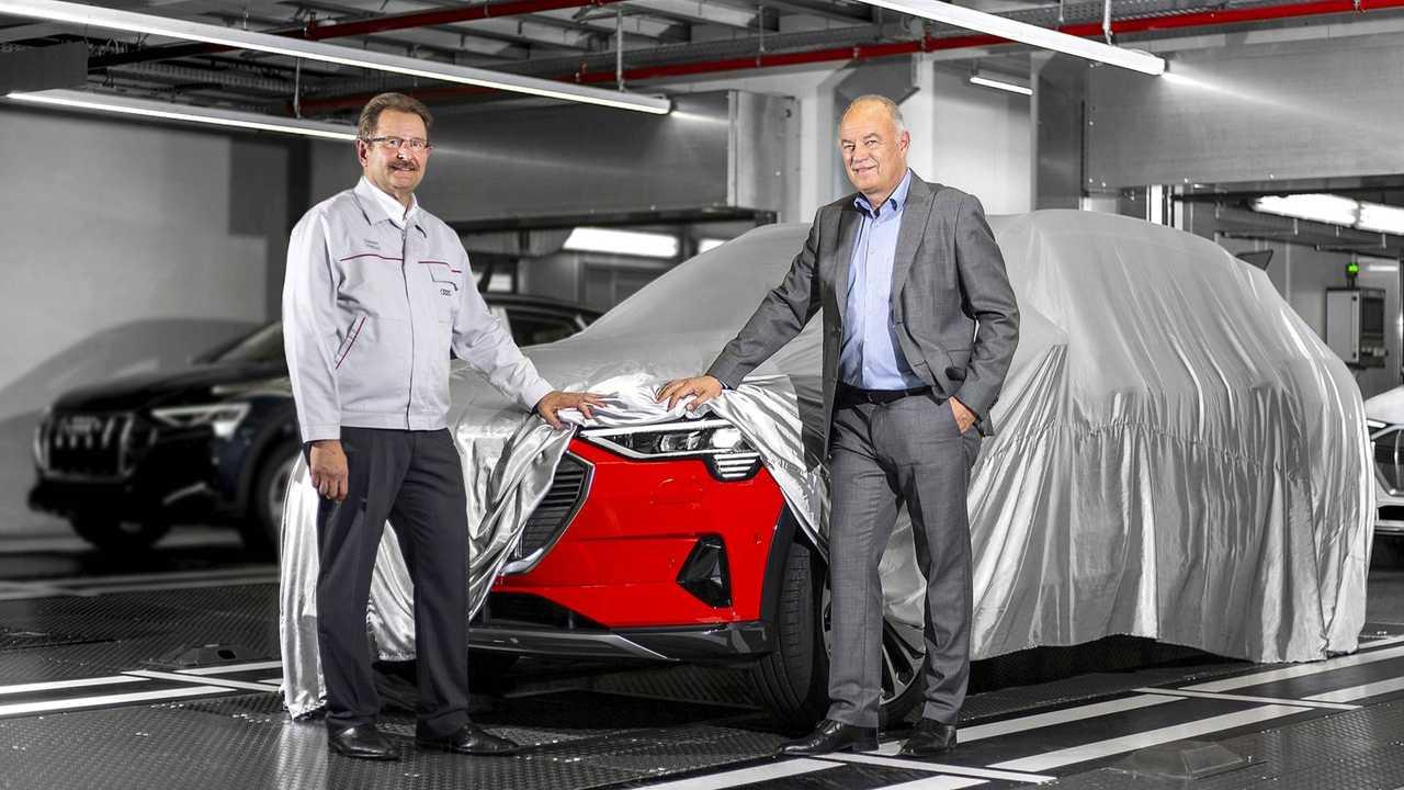 Audi e-tron Produktionsstart