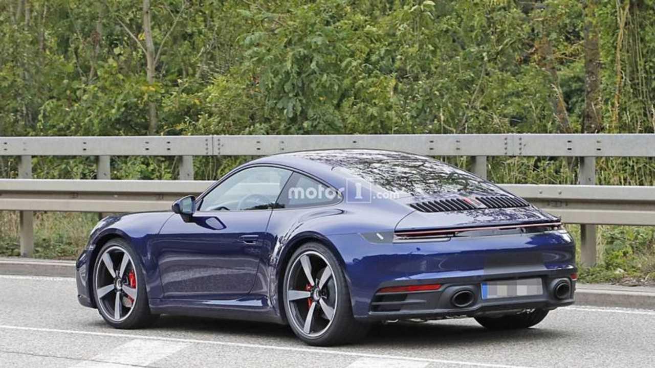 2018 Porsche 911 yeni casus fotoğraflar