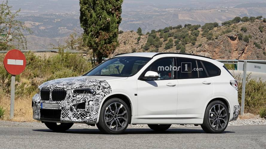 2020 BMW X1 new spy photos