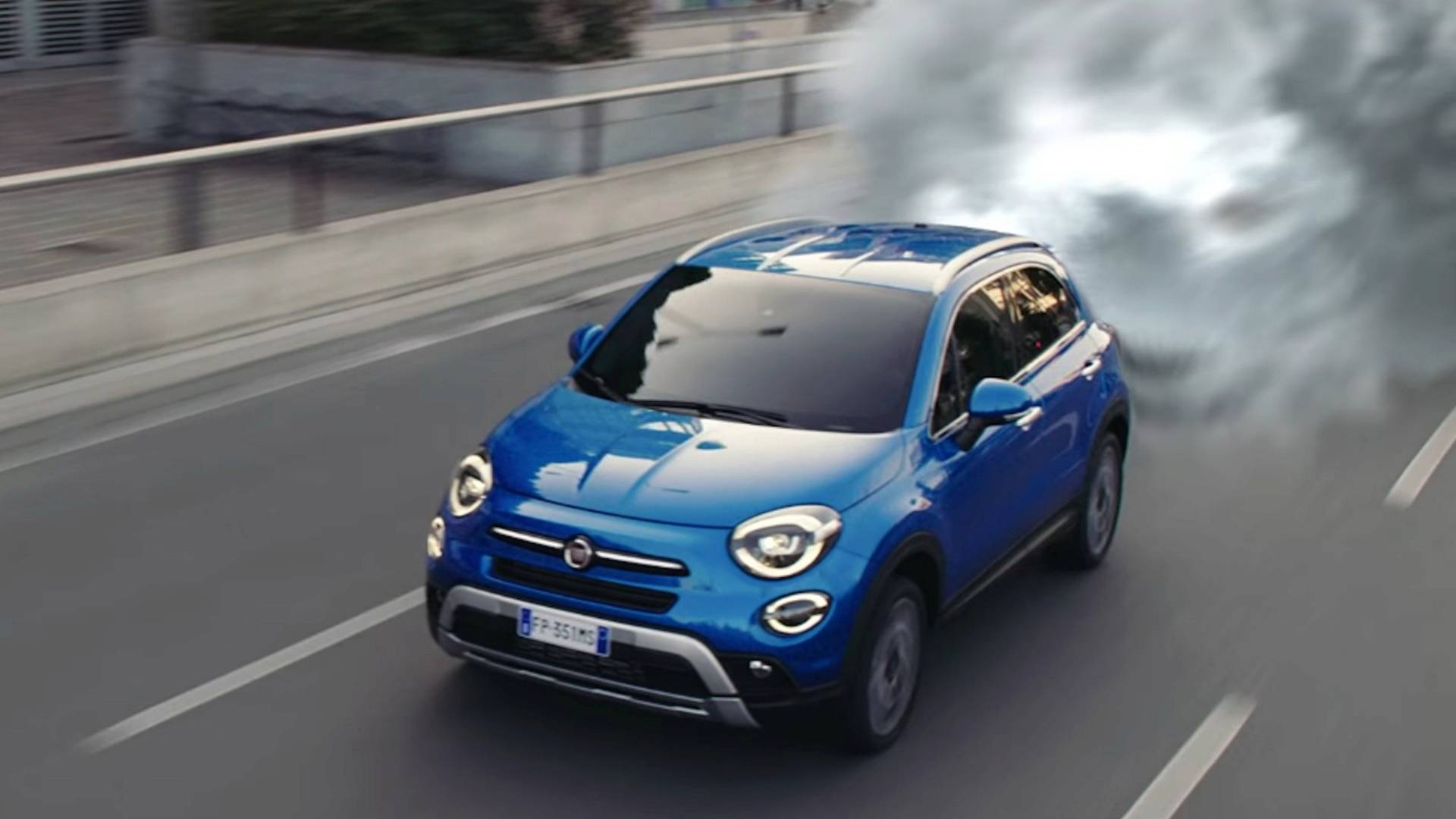 Fiat Goes Back To The Future With 2019 500X Ad Feat  Doc Brown