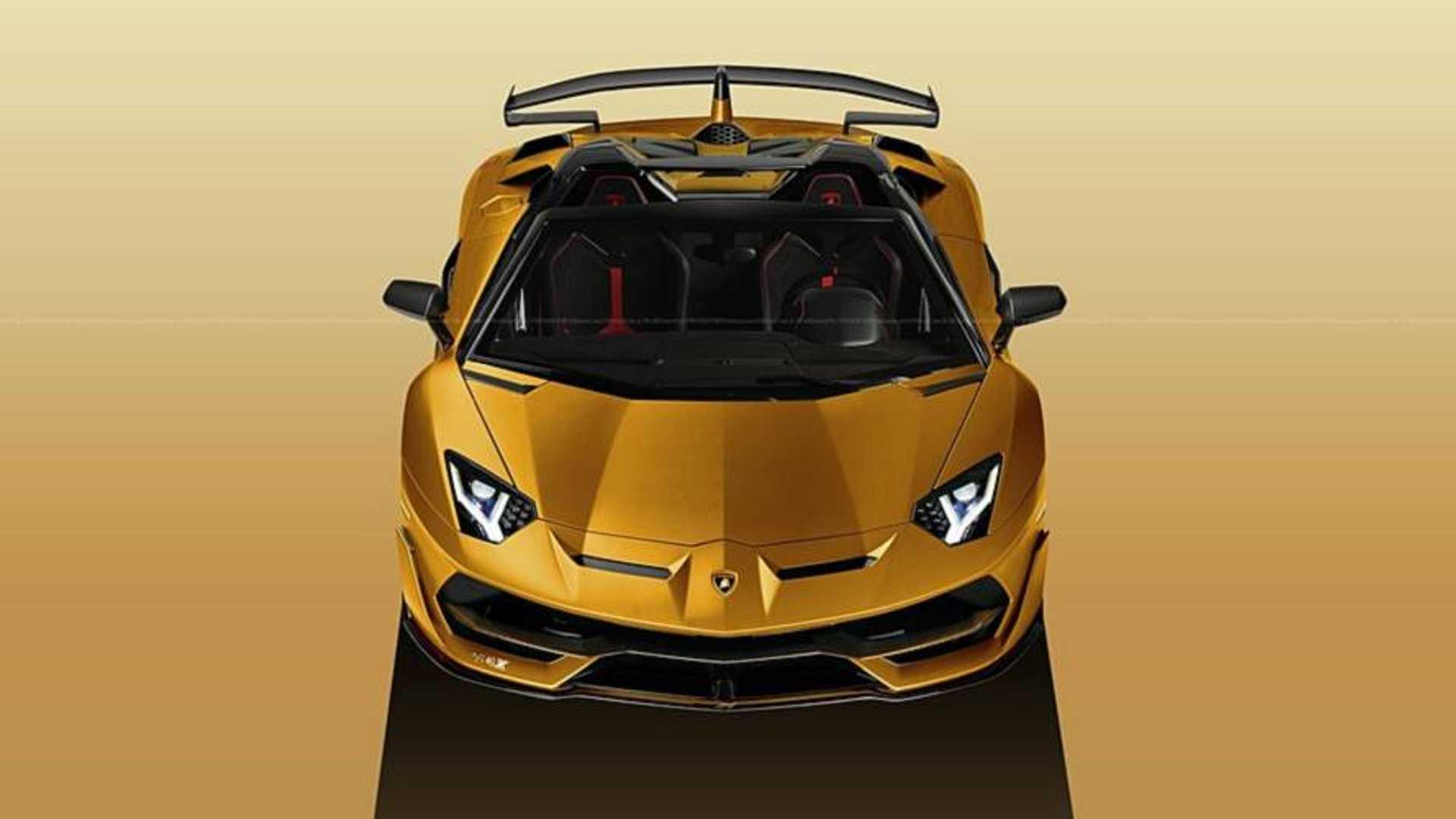 Lamborghini Aventador SVJ Roadster Basically Confirmed