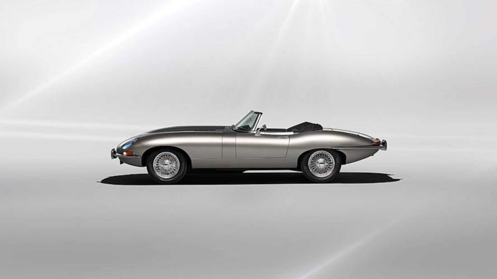 Jaguar E Type >> Jaguar Klasik E Type I Elektriklendirecek