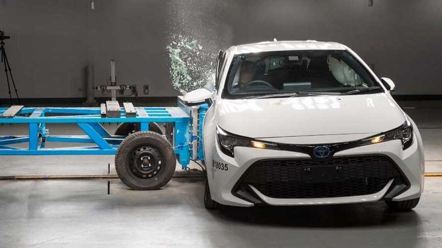 Novo Toyota Corolla já recebe nota máxima de segurança