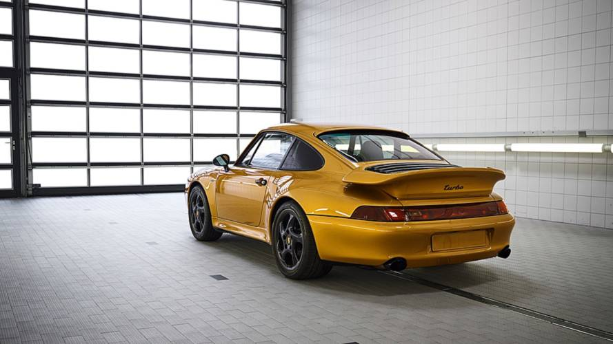 Porsche Project Gold, aggiudicata all'asta in appena 10 minuti