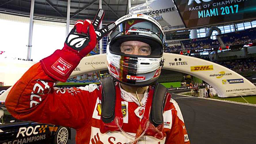 Race of Champions 2019: Sebastian Vettel erneut am Start