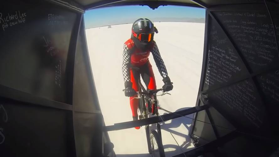 Watch This Woman Do Almost 200 Miles Per Hour On A Bicycle